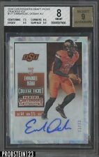 2016 Contenders College Ticket Cracked Ice Emmanuel Ogbah RC AUTO 13/23 BGS 8