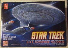 Star Trek USS Enterprise Plastic Kit Open Box