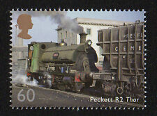2014 SG 3574 60p 'Peckett R2 Thor' from 'Classic Locomotives of UK' PSB DY9