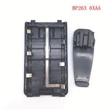 BP263 6xAA battery case/box for Icom IC V80/V80E T70A/70E F27SR,F3103D,F3001 etc