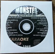 NEW WAVE KARAOKE CDG MALE 1980'S HITS MONSTER HITS CD+G MH1069 TEARS FOR FEARS