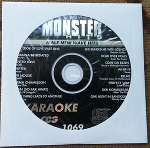NEW WAVE KARAOKE CDG MALE 1980'S HITS MONSTER HITS CD+G MH1069 TEARS FOR FEARS