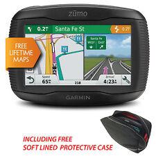 Garmin Zumo 395LM UK & Europe Motorcycle GPS Sat Nav With Lifetime Map Updates