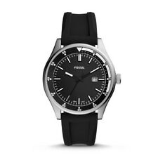Fossil FS5535 Mens Belmar Black Analogue Watch  44 MM
