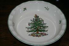 Wellenschale rund 25 cm Spode Christmas Tree