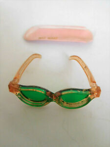"""Vintage 1950's Sunglasses & Case for 10"""" Fashion Doll Mae Marie"""