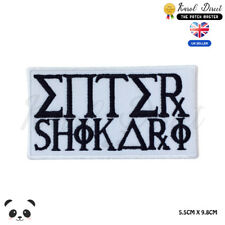 Enter Shikari Music Band Embroidered Iron On Sew On PatchBadge For Clothes etc