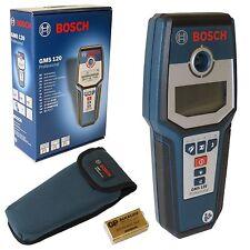 Bosch Multi-Ortungsgerät Leitungssucher Multidetektor GMS 120 mit Schutztasche