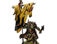 Mantic Games Kings Of War Metal Orc Flagger Fast & Free P&P UK (KOW, Warhammer)