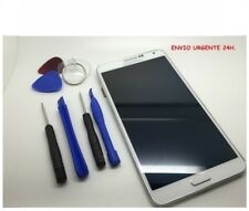 ECRAN TACTILE LCD complet POUR SAMSUNG GALAXY NOTE 3 N9005 blanc avec cadre