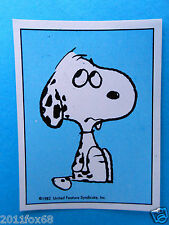 figuritas figurines figuren snoopy figurine i love snoopy 19 panini 1980-90 gq