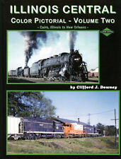 ILLINOIS CENTRAL Pictorial, Vol. 2, Cairo, IL to New Orleans (Out of Print, NEW)