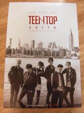 TEEN TOP - TEEN TOP EXITO  CD W/ PHOTO CARD & BOOK + UNFOLD POSTER $2.99 S&H