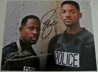 BAD BOYS Movie Photograph Hand Signed WILL SMITH & MARTIN LAWRENCE Autograph