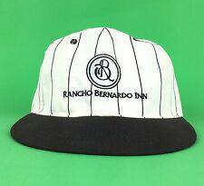 Vintage Rancho Bernardo Inn Baseball Cap Hat Snapback FlexFit L XL Made In USA