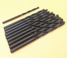 10x HSS-TIN metalworking twist drill bits DIN338N Ø 4.9mm