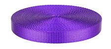 3/4 Inch Purple Heavy Plus Nylon Webbing Closeout, 10 Yards