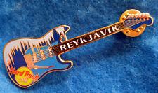 New listing Reykjavik Frosty Ice & Snow Weather Seasons Fender Guitar Hard Rock Cafe Pin Le