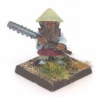 Samurai Dwarf Large Mace Warhammer Fantasy Armies 28mm Unpainted Wargames