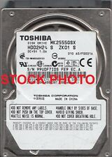 "Toshiba MK2555GSX 250GB 2.5"" Mobile Hard Disc Drive (SATA, 5400 rpm, 8 MB)"