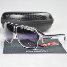 b695cd93fdc Fashion Aviator Men Womens Glasses Unisex Retro Matte Black Carrera  Sunglasses