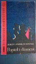 JERZY ANDRZEJEWSKI - POPIÓŁ I DIAMENT