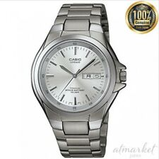 Lineage Lin-171j-7ajf Titanium Analog Silver Men Watch From Japan Casio