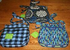 Vera Bradley PETITE DOUBLE ZIP HIPSTER crossbody small little mini shoulder bag