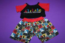 Build a Bear Star Wars Graphic Pajamas PJ's