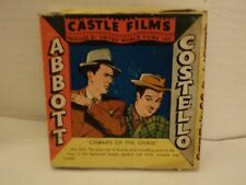 "Abbott & Costello,8 MM Film,""Champs of The Chase"",US,Castle Films, In Box,RARE!!"