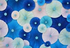 Paper Fold Flower Backdrop Diy Photography Background Wallpaper Studio Prop 7x5