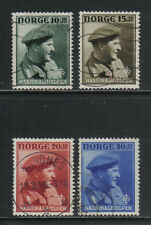 Norway 1946 Crown Prince Olav semipostal--Attractive Topical (B43-46) fine used