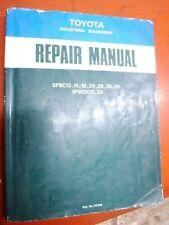 1991 Toyota Forklift Repair Manual Model 5fbc13 15 18 20 25 28 30 Service
