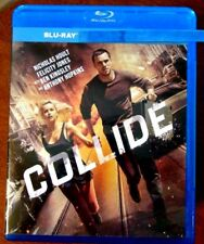 """Collide """" Blu-Ray Movie Disc, Blu-ray Case and Artwork"""