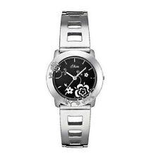 Runde s.Oliver Armbanduhren mit Edelstahl-Erwachsene