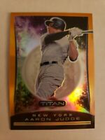 2020 Panini Chronicles - Titan - Aaron Judge - NEON ORANGE FOTL Parallel - 07/17