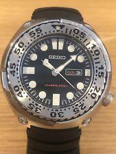 Seiko diente de sierra, Divers Watch 7N36 - 0AF0, impresionante condición,