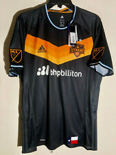 Adidas Authentic MLS Jersey Houston Dynamo Team Black sz L
