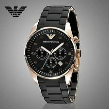 Emporio Armani AR5905 Black Sportivo Chronograph Men's Wrist Watch