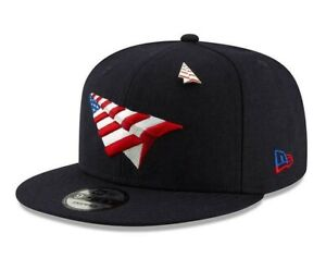 ROC NATION ✈️ SNAPBACK !9FIFTY CROWN AMERICAN DREAM HAT PAPER PLANES PIN JAY-Z🔥