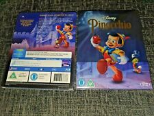 Disney's PINOCCHIO Blu-Ray Zavvi Exclusive Sold-Out Steelbook Brand New & Sealed