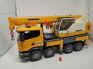 Bruder 3570 Scania R-560 Liebherr Crane Truck Lorry Construction Toy 61 cm Long