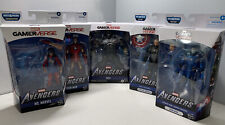 Lot of 5 Marvel Legends Gamerverse Capt America, Ms. Marvel, Iron Man & The Hulk
