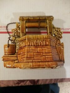 Vintage McCoy Grant A Wish to the Ol Wishing Well Planter Original