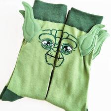 Star Wars character cotton socks Yoda grandmaster seam male socks funny man Sock