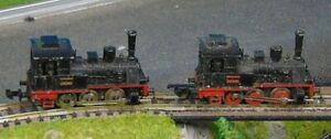 2 x T3 tank loco  0-6-0  SPARES/REPAIR    by MINITRIX      N Gauge   (9)