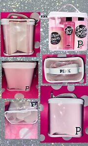 Victoria Secret PINK Carry All Shower Tote Caddy Bag Dorm VS FREE SHIPPING Cute