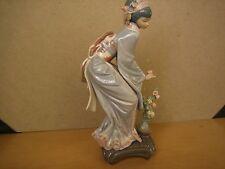 lladro retired Japanese  GEISHA MAYUMI #1449