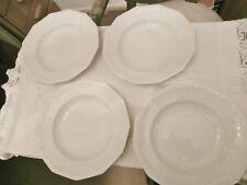 Rosenthal Maria, weiß, 4 Suppenteller