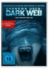 DVD * UNKNOWN USER  DARK WEB - FACE TIME MIT DEM TOD # NEU OVP +